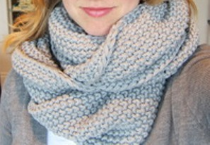 Gray Gap Scarf